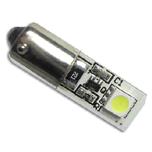 LED H6W Lamp PL-BA9S-2-5050SMD Canbus